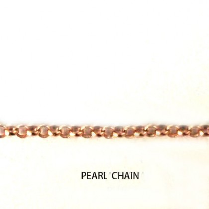 Arabic 925 Silver Name Necklace in Rose Gold Plating with Diamond