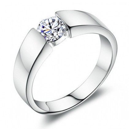 Wedding Rings High Quality 925 Sterling Silver Jewelry MR53