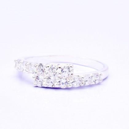 925 Genuine Silver Fashion Ladies Ring LR79