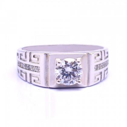 Sera 925 Sterling Silver Engagement Men Ring MR52