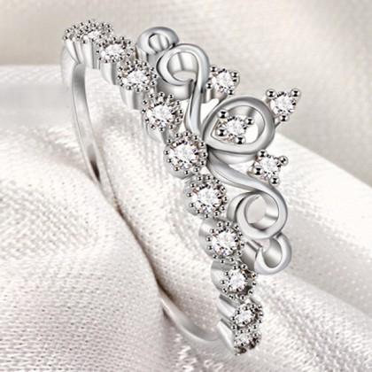 Stainless Steel Ladies Ring JZ029