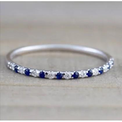Stainless Steel Ladies Ring JJZ1