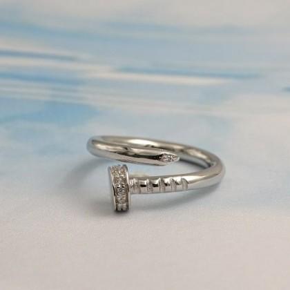 925 Genuine Silver Pleasant Fashion Ladies Ring LRO17