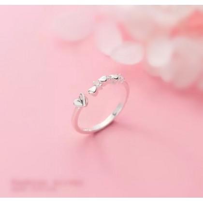 925 Sterling Silver Fashion Ladies Ring LRO29