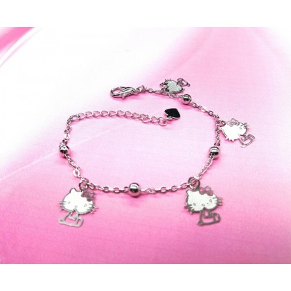 Plated 925 Sterling Silver Fashion Bracelet HT001