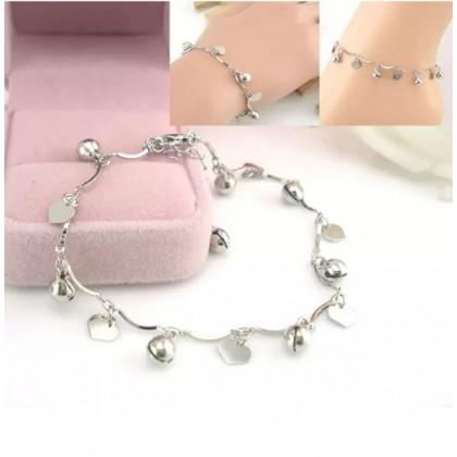 Plated 925 Sterling Silver Fashion Bracelet HT006