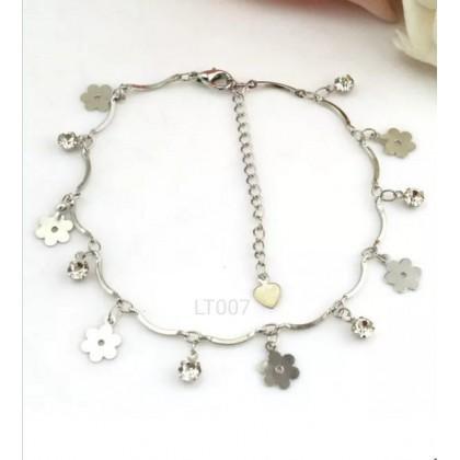 Plated 925 Sterling Silver Fashion Bracelet HT007