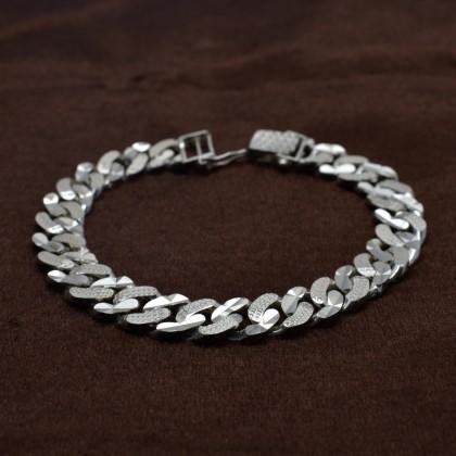 Sera Pure 925 Sterling Silver Men Bangle
