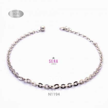 Sera 925 Sterling Silver Anklet L1194