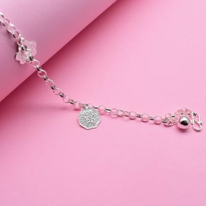 Sera 925 Sterling Silver Eight Treasures Charm Kid Baby Bracelet