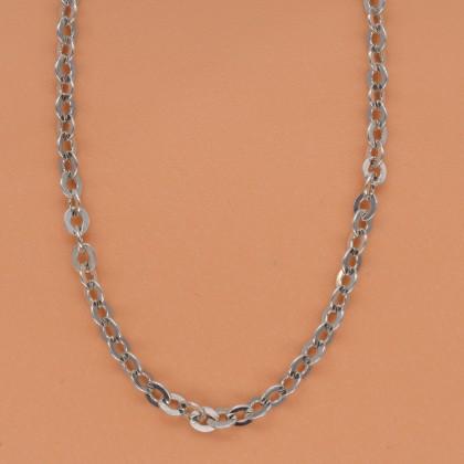 Sera 925 Sterling Silver Polo Chain Necklace