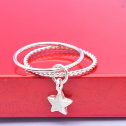 925 Sterling Silver Fashion Ladies Ring LR51