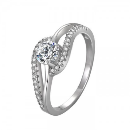 925 Sterling Silver Fashion Ladies Ring