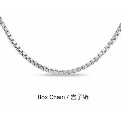 Initial Letter Full Clear Birthstone 925 Silver Necklace